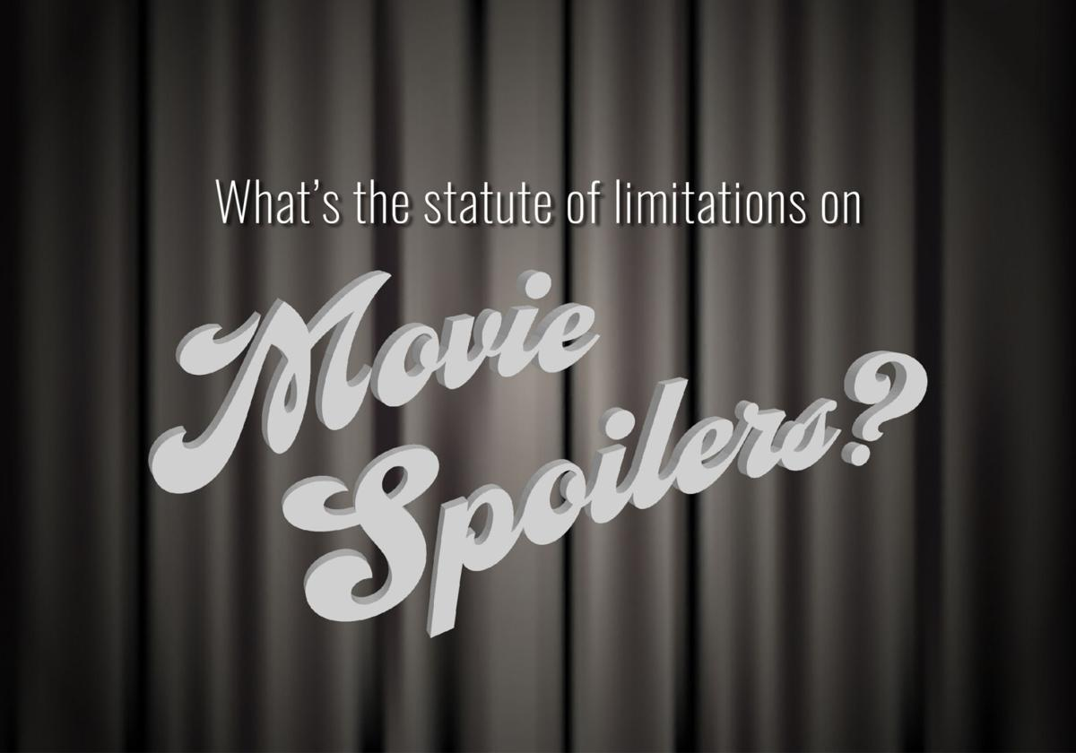 What's the statute of limitations on movie spoilers? Debate rages over when a film's secrets should be revealed