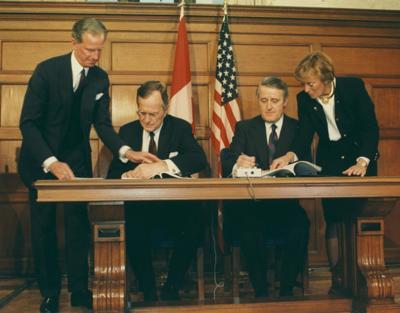 Acid Rain Treaty marked a Canada/US milestone