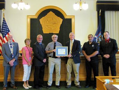 Vono celebrates 20 years of service with Oswego County