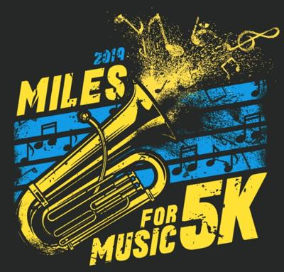 APW marching band Miles for Music 5K Walk/Run