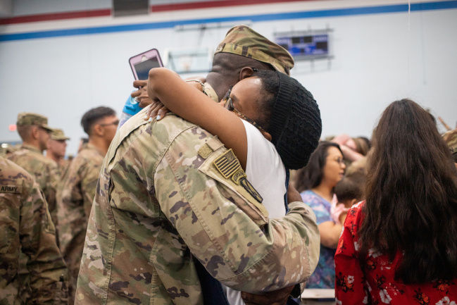 250 Fort Drum soldiers return from Afghanistan, welcomed