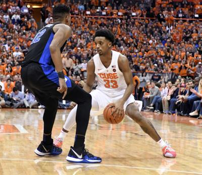 College Basketball Hughes Shows He S Ready For Role In