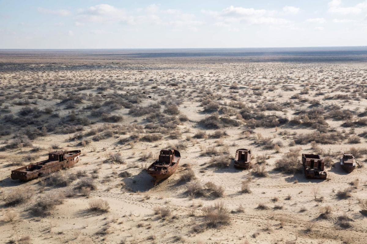 Millions at risk as Aral Sea dries up