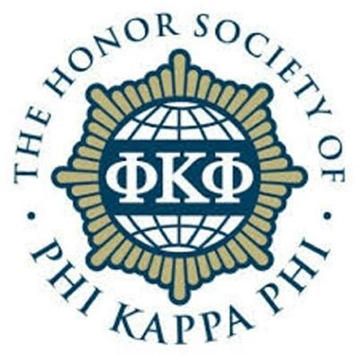 Two inducted into The Honor Society of Phi Kappa Phi