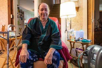 COVID patient glad to be home