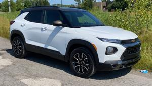 2021 Chevy Trailblazer's style, value and features raise expectations for small SUVs.