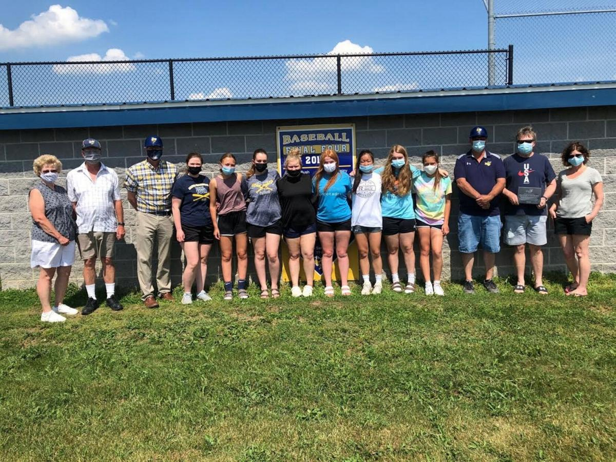 M-W dedicates dugouts, honors leaders of construction project