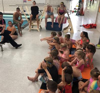Emergency responders visit Mexico's Learn to Swim program