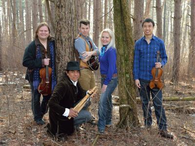 String quartet, Grammy- winning Native American musician to present 'The River'