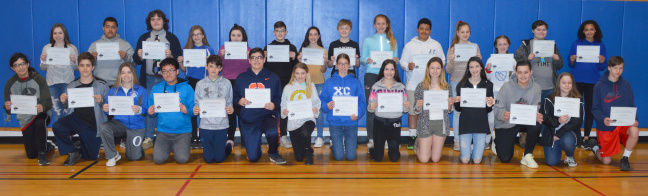 OMS releases Q3 honors for 7th, 8th graders