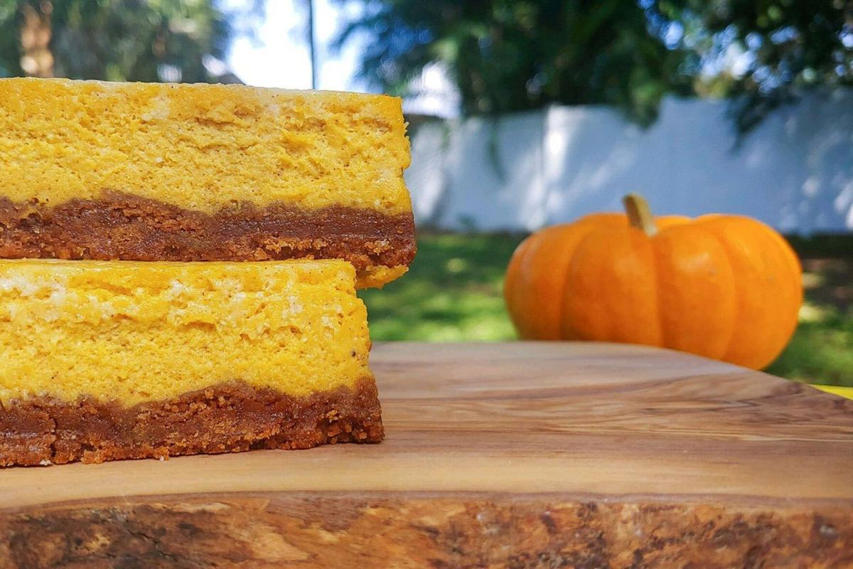 A pumpkin spice celebration for cheesecake lovers