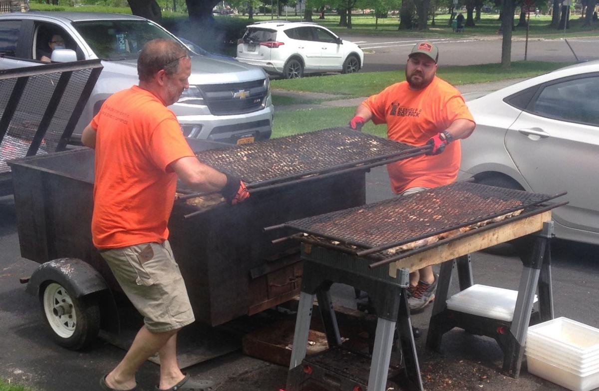 Blessings barbecue aids needy