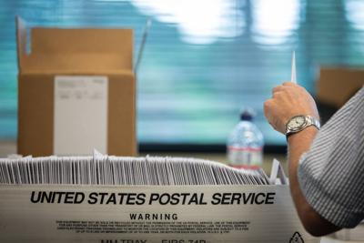 Even as judges reject lawsuits to restrict voting by mail, GOP stands to benefit from them
