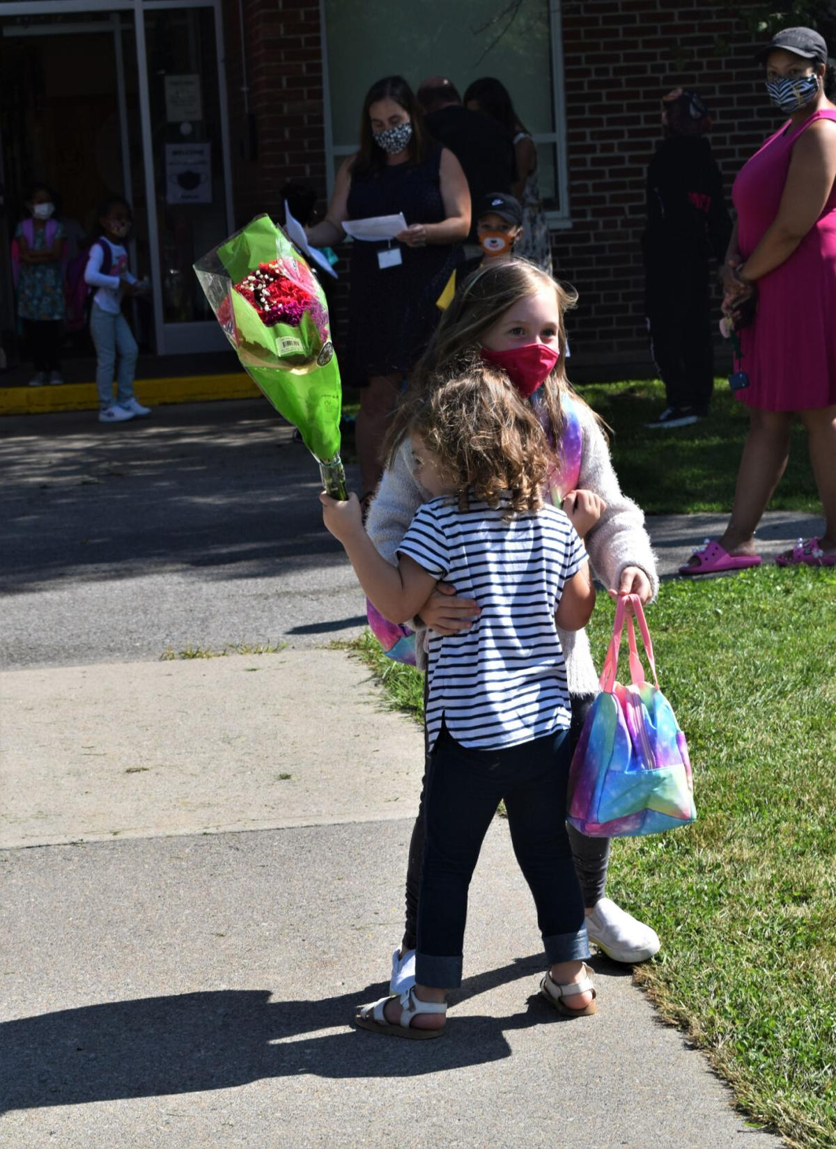 Schools welcome students back to classrooms