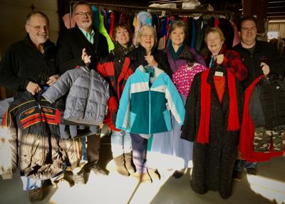 Radio stations' Coat drive warms the season