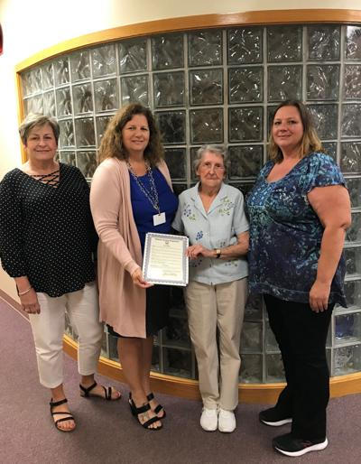Ella Cooper receives commendation