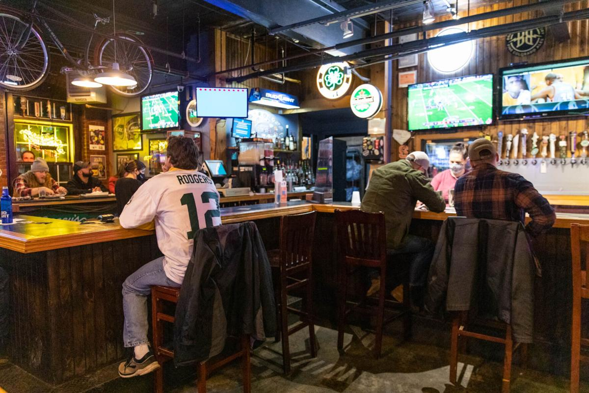 COVID keeps football fans at bay for big Sunday night game