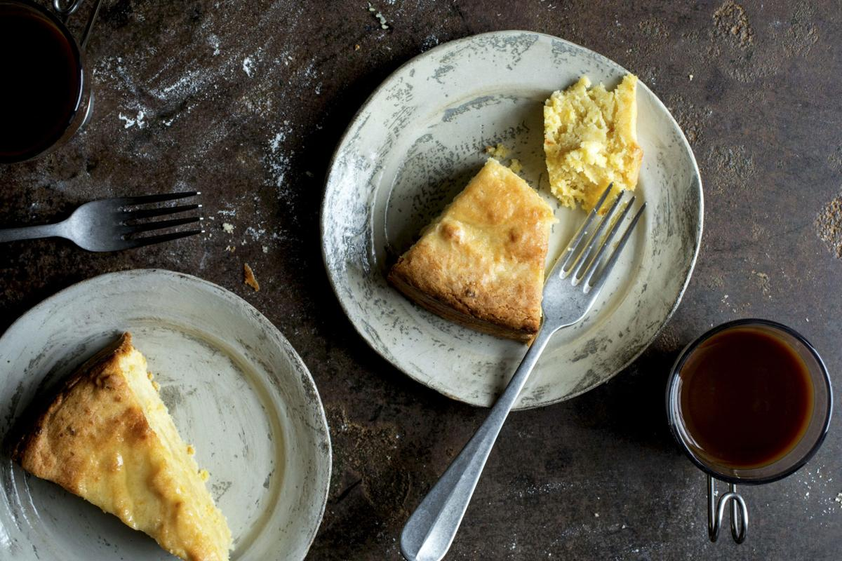 A lemon cake that cuts to the pith