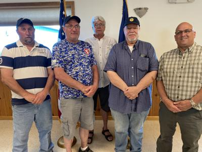 New officers installed