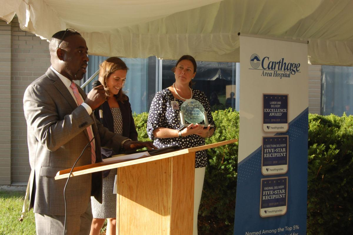 Baby shower offers opportunity for Carthage Area Hospital to receive award