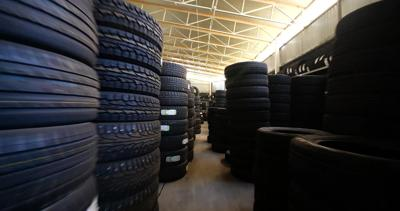 Don't worry about tires that have sat in a warehouse
