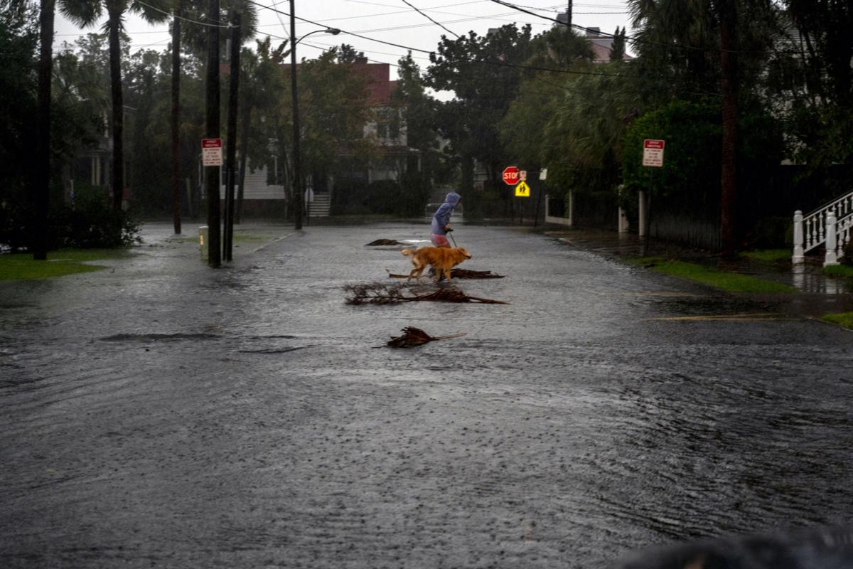 Hurricane Dorian pounds Carolinas