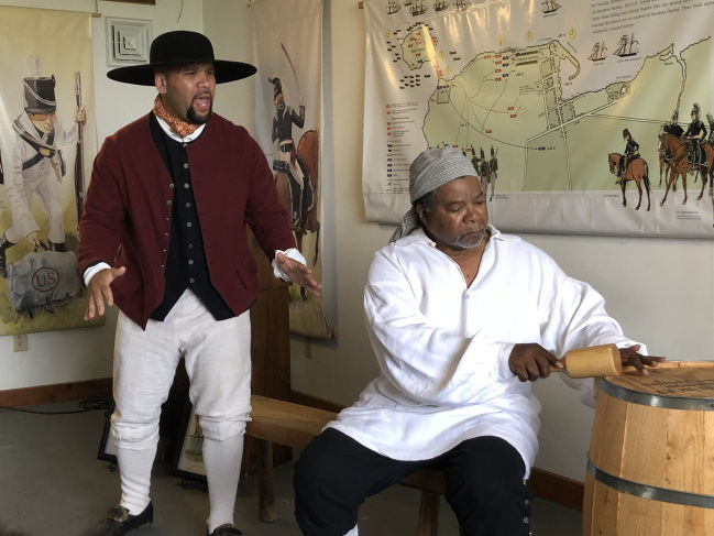 New York's slave past the topic of event