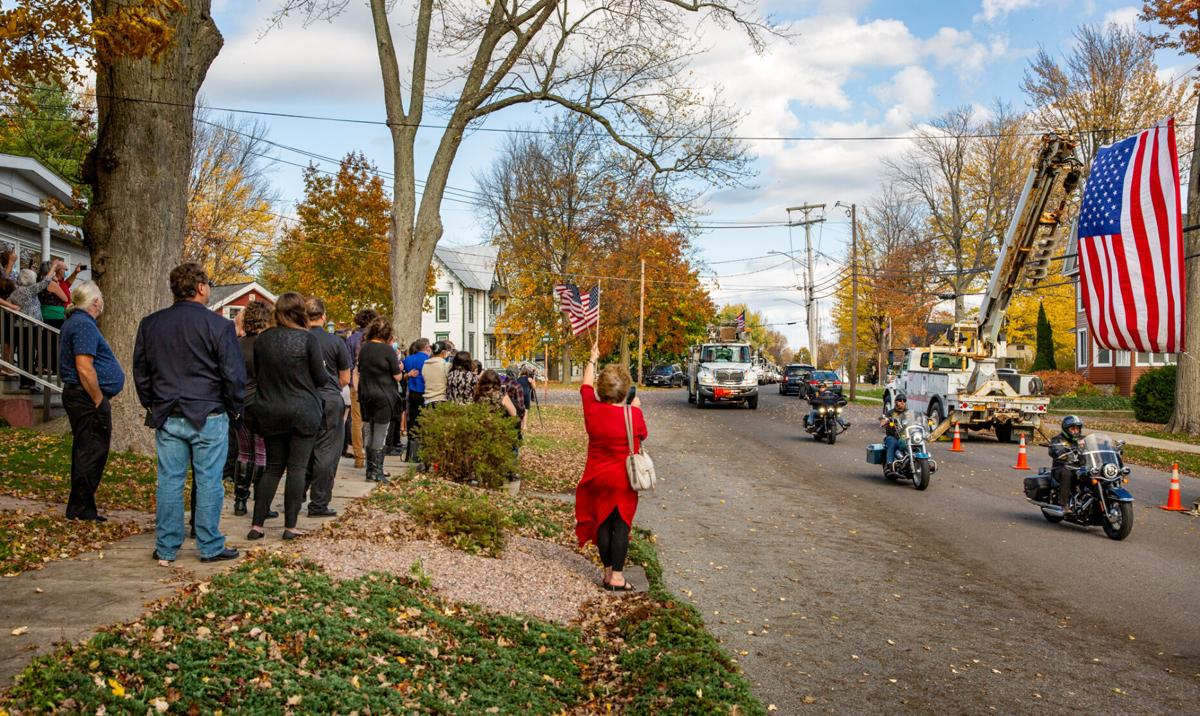 Tribute for Verizon worker killed on job
