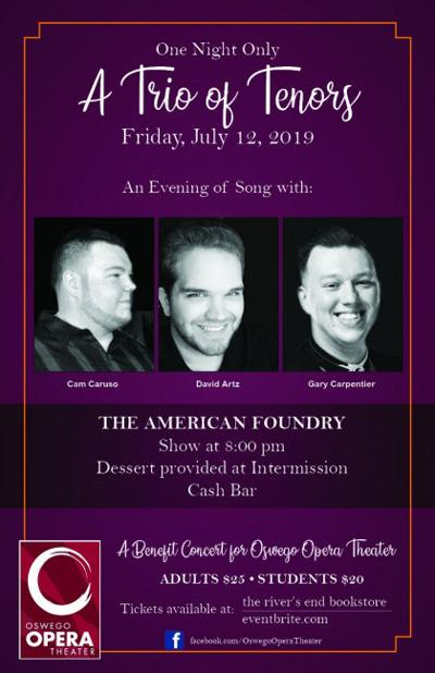 One night only: A trio of tenors