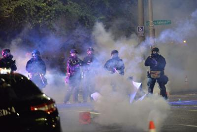 Police crowd-control chemical weapons pose a mystery for medical researchers