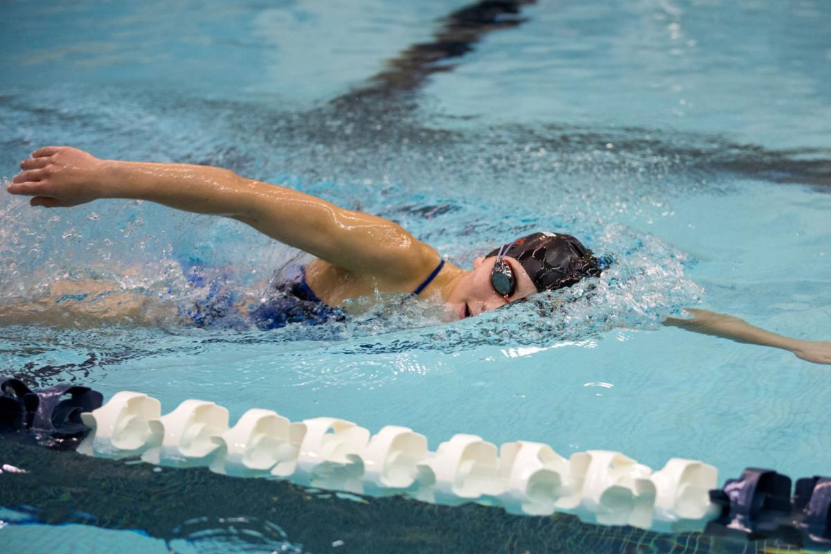 Four Oswego girls varsity swimmers heading to states