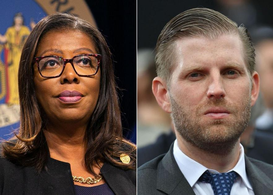New York attorney general questions Eric Trump under oath in investigation into whether the Trump Organization inflated assets to get tax benefits