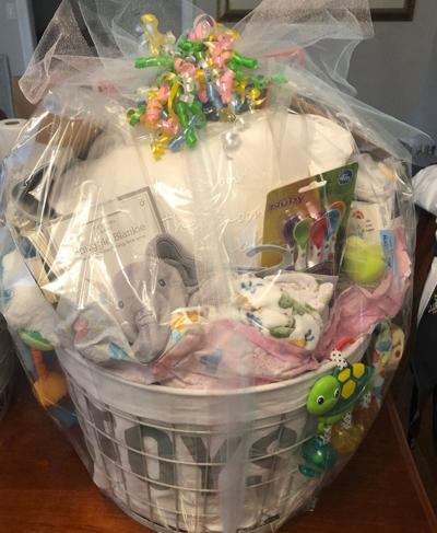 gift basket for new mother