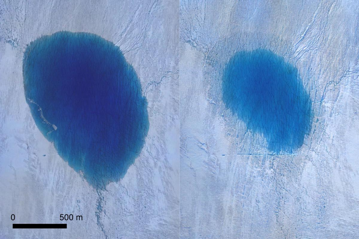 Cracks in Greenland ice sheet could raise sea level
