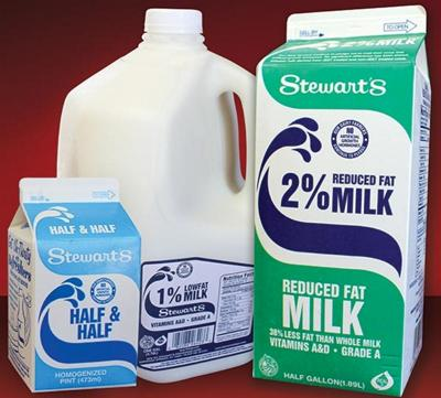 Stewart's wins top honors in fluid milk competition