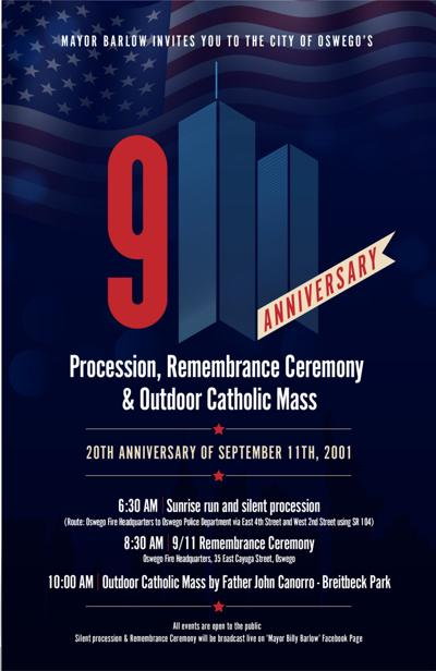 9/11 remembrance events in Oswego