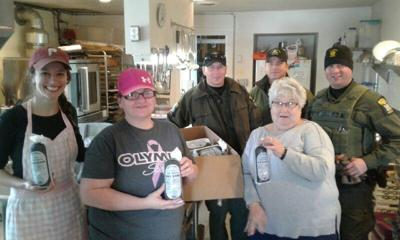 Moose meat donation made