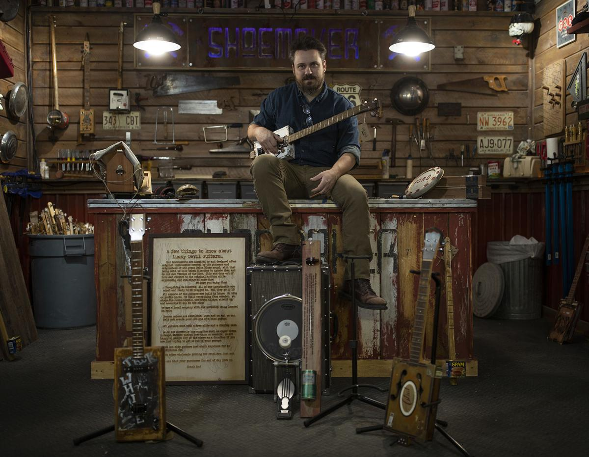 A Minneapolis man resurrects a storied folk instrument The cigar box guitar