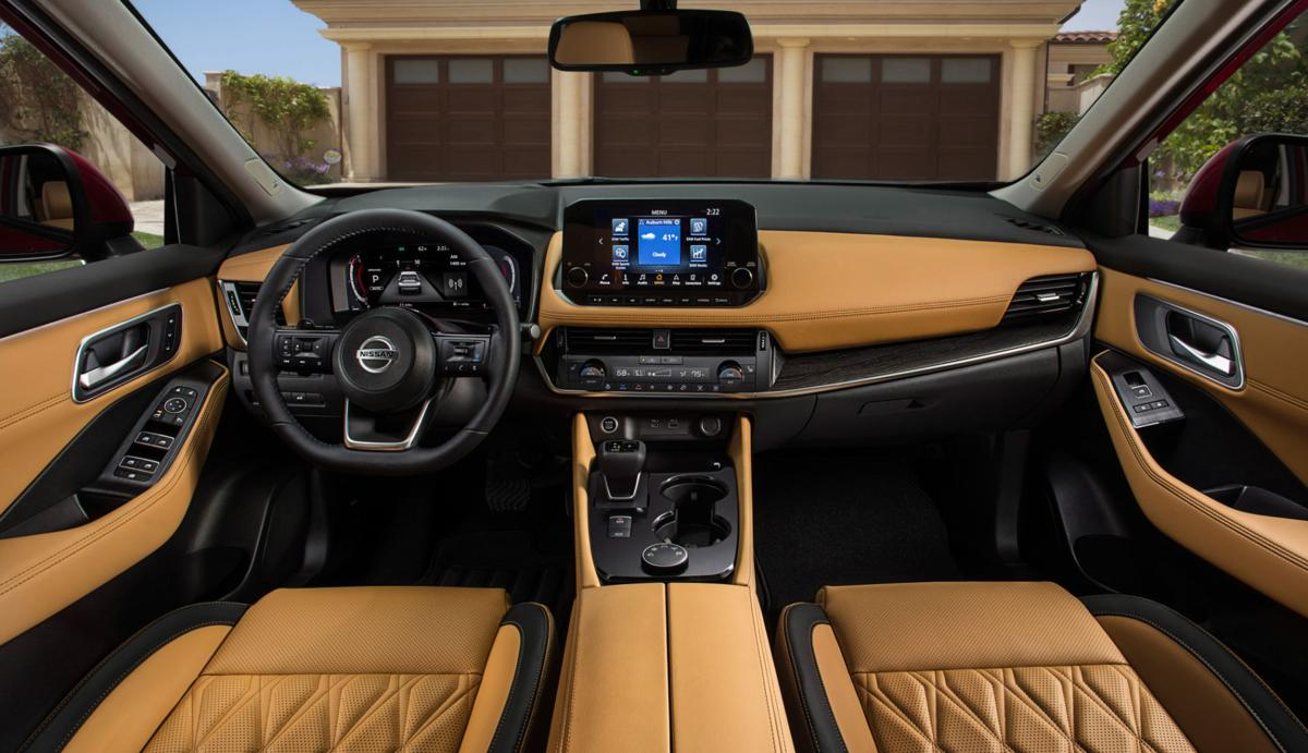 2021 Nissan rogue makes room for car seats, adds clever navigation