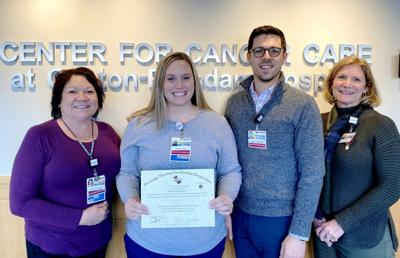 Oncology nurse earns specialty certification