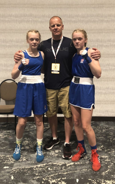 Griffith sisters capture Junior Olympics titles