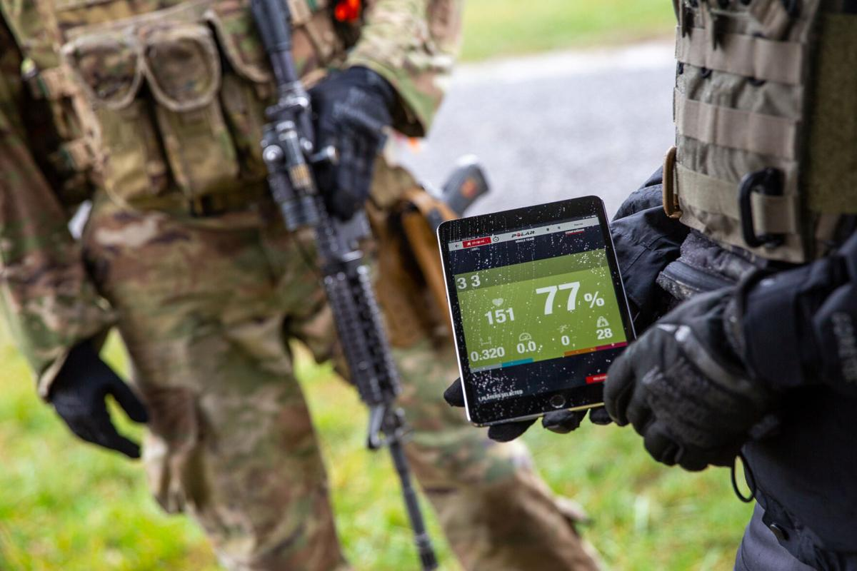 Smart technology aids soldiers