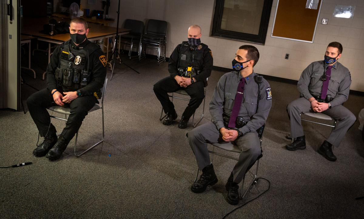 Officers Hailed as heroes