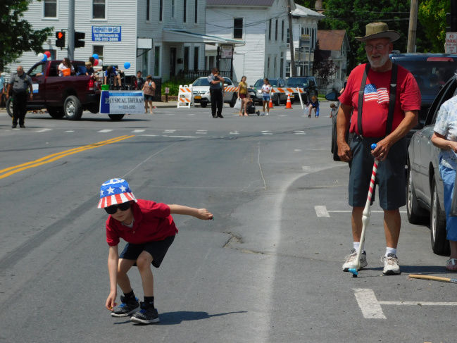 Celebrating Independence Day in Adams