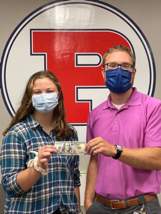 100 for 100: PACS Middle-High School principal awards senior $100 for perfect ELA Regents score