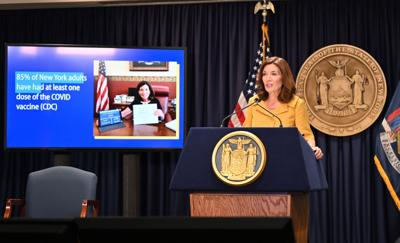 Hochul vows to defend mandate