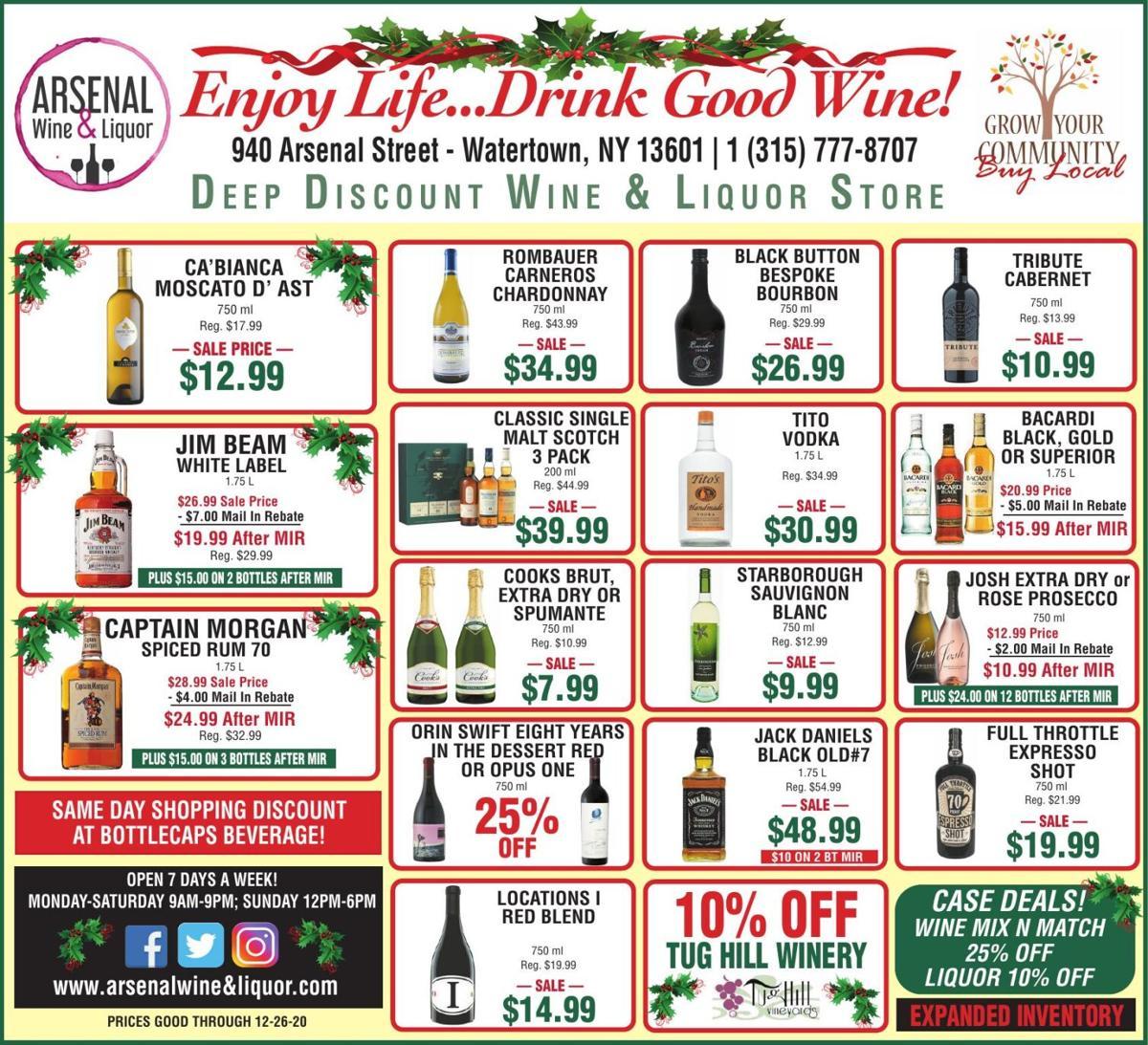 Arsenal St. Wine and Liquor