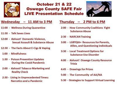 SAFE Fair live presentation scheduled for Oct. 21-22
