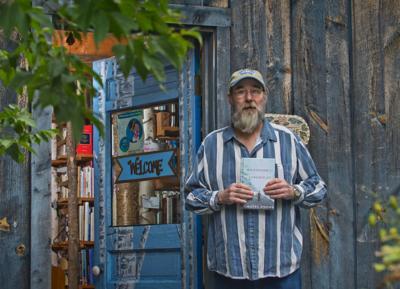 Book shop owner writes novel