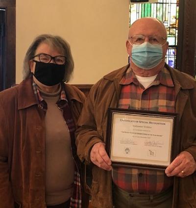 Nathaniel Virkler named Lewis County Senior Citizen of the Year